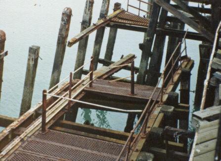 Hurricane Damage on Hastings Pier