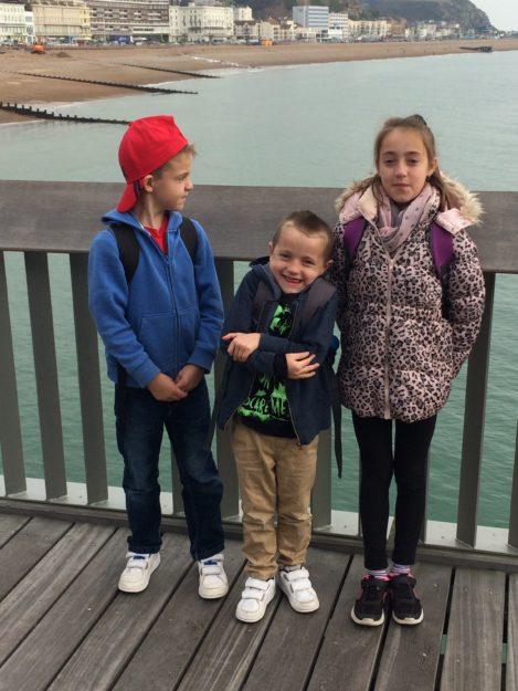 Daniel, Kieran and Louise 1