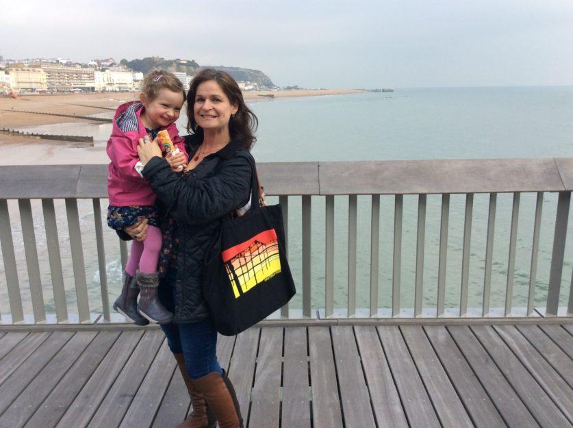 Emily Haggan-Koseoglu and Daughter Isolde