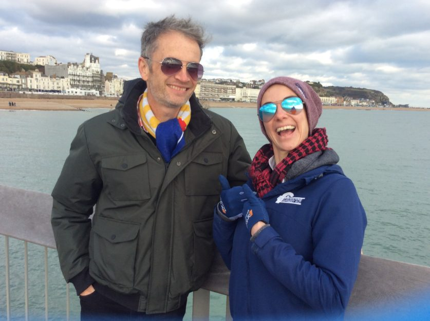 Alan Matthews and Claire Weddle