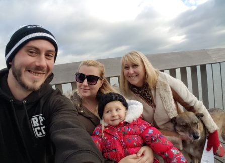 Family Walk on the Pier
