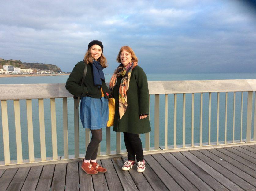 Catie Palmer and Annie Smillie