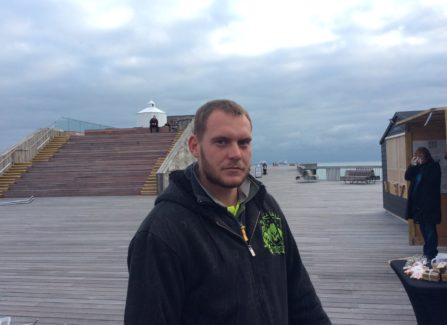 Dan Bailey, Pier Maintenance Engineer