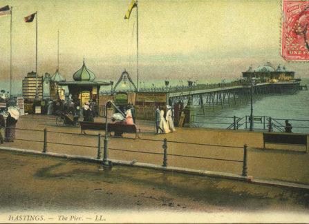 Hastings Pier, 1905