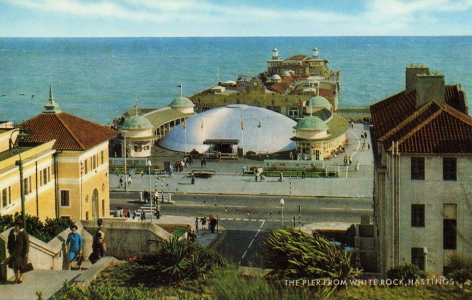 The Pier still offered a wide variety of visitor attractions in the 1960s