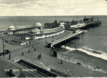 The Pier and Bandstand, 1950s