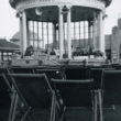 Close-up of the bandstand, 1930s
