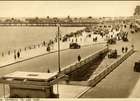 New Parade, Entrance to the Underground Car Park and Pier