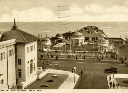 The Pier and bandstand, 1936