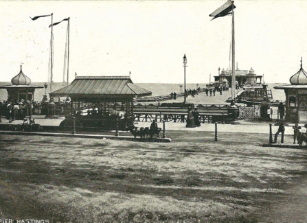 Early View of Hastings Pier