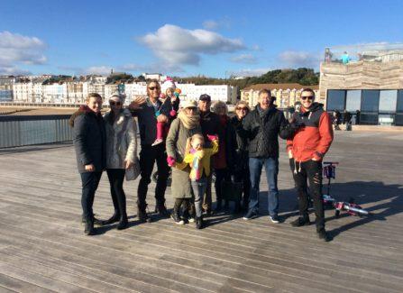 Ian Grant and Family