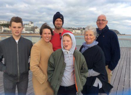 Jonathan Dolding and Family