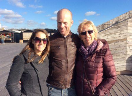 Mel Holgate and Family