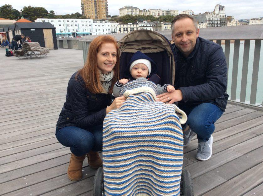 Robert, Michelle and Lucas Carey