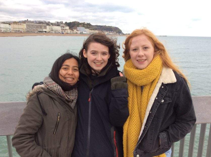 Zoë, Eryn and Naana