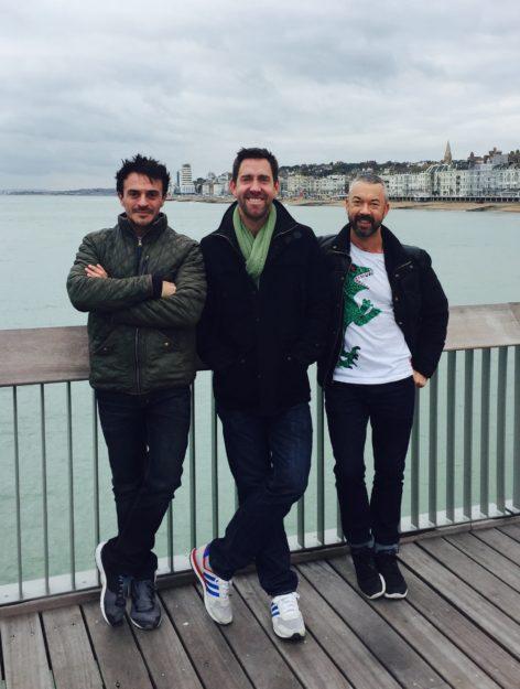 David Alcock, Max Marino and Rob Sykes