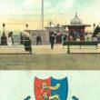 Edwardian 'Borough of Hastings' Post Card.