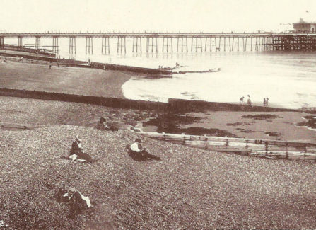 The Edwardian Pier from the West.