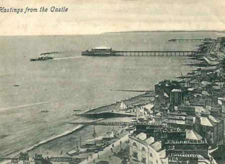Hastings with its Two Piers.