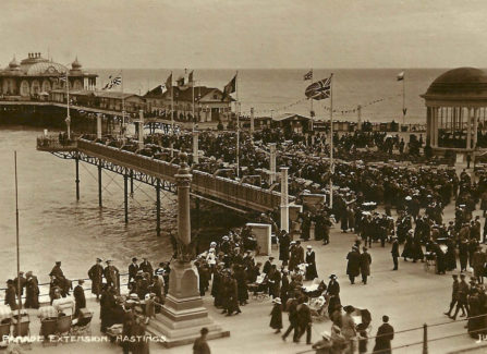 The New Parade Extension on Hastings Pier