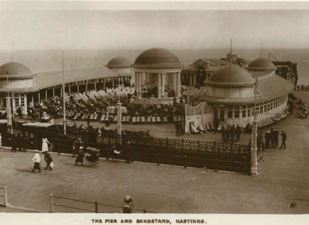 The Pier and Bandstand after the 1917 Fire