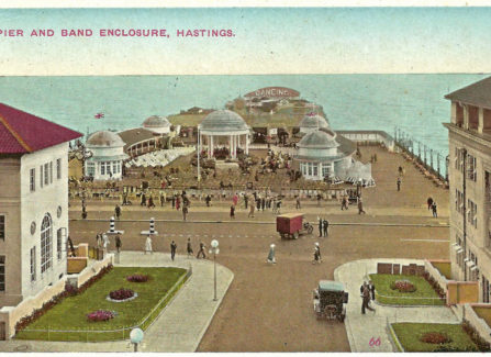 Pier and Band Enclosure late 1920s