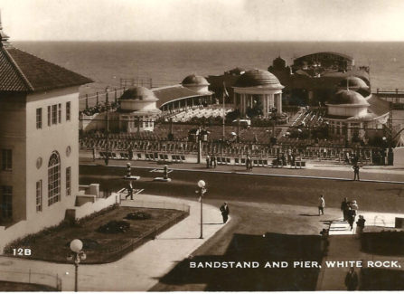 Bandstand and Pier c.1930s