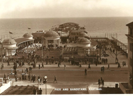 Pier and Bandstand c.1930
