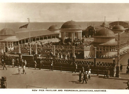 New Pier Pavilion and Promenade, Bandstand, 1922