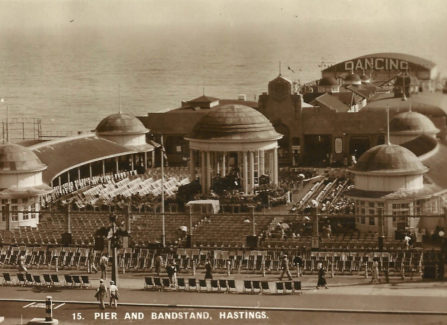 Pier and Bandstand, 1930s