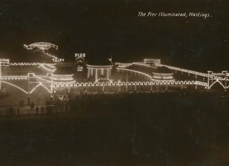 The Pier Illuminated, 1920s