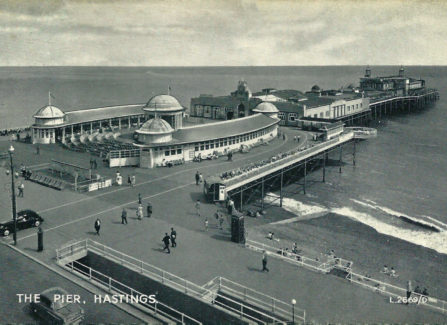 Aerial View of the Pier, 1950s