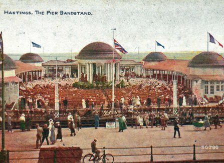 The Pier Bandstand 1920-1922