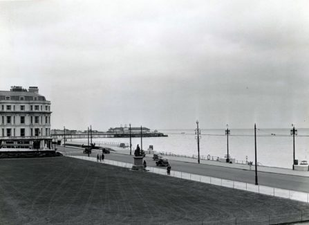 Hastings Pier from Warrior Square