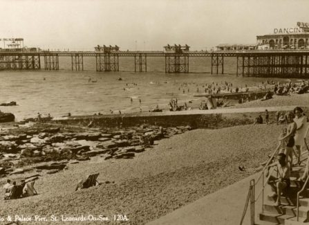 The Lido and Palace Pier, St Leonards on Sea