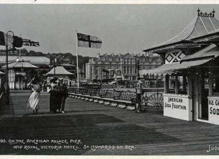 On The American Palace Pier