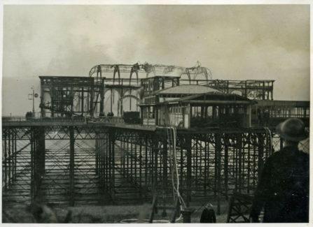 St Leonards Pier Damaged by Fire