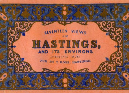 """Seventeen Views of Hastings & Its Environs"""