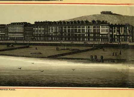 Engraved Panorama of Hastings & St Leonards, c. 1872