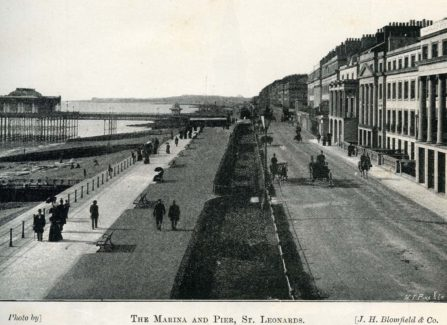 The Marina & Pier, St Leonards