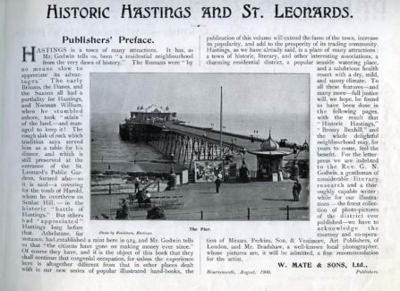 """Historic Hastings and St Leonards"""