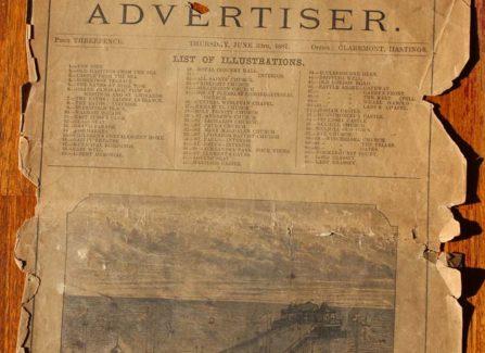 Hastings & St Leonards Advertiser 1887