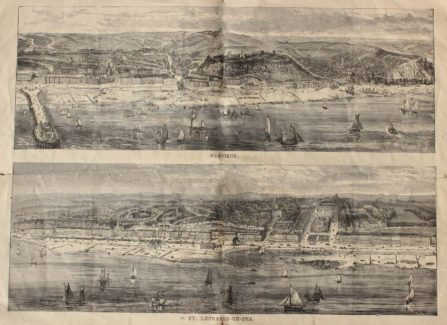 Panoramic Drawings of Hastings & St Leonards