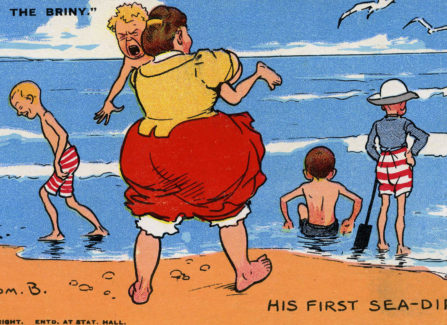 Cartoonist Tom Browne's Seaside Postcard