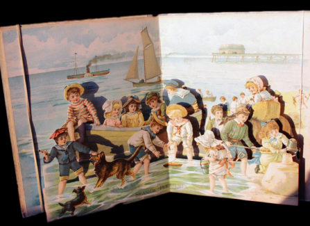 Victorian Pop-up book