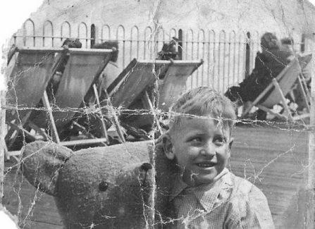 Summer of 1947 on Hastings Pier