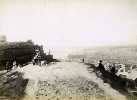 Francis Frith photograph of Hastings from the Castle