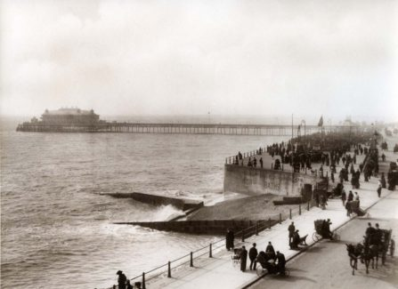 White Rock Baths and the Pier