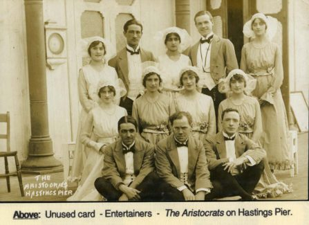 The Aristocrats on Hastings Pier