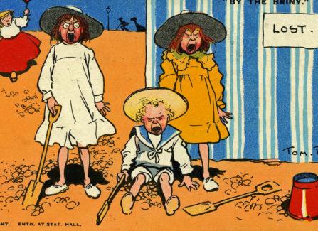 Cartoonist Tom Browne's Seaside Postcard